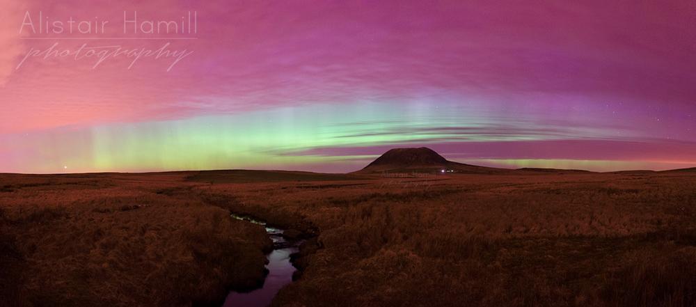 Slemish aurora explosion pano (Large) wm.jpg