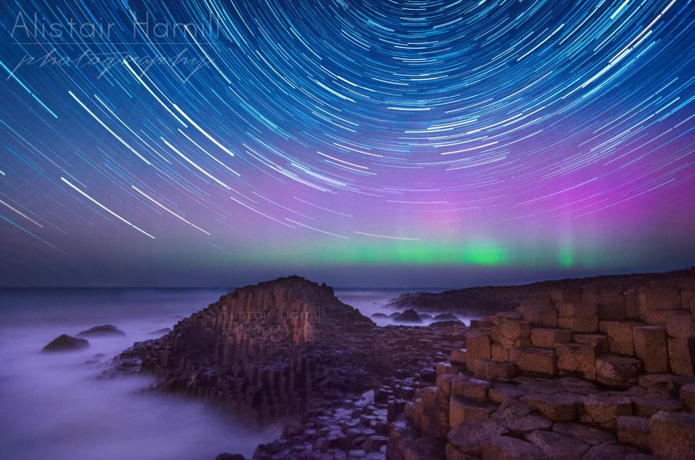 April aurora Causeway star trails (Large) wm.jpg