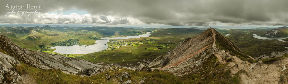 Errigal pano 2 with Philip (Large) wm.jpg