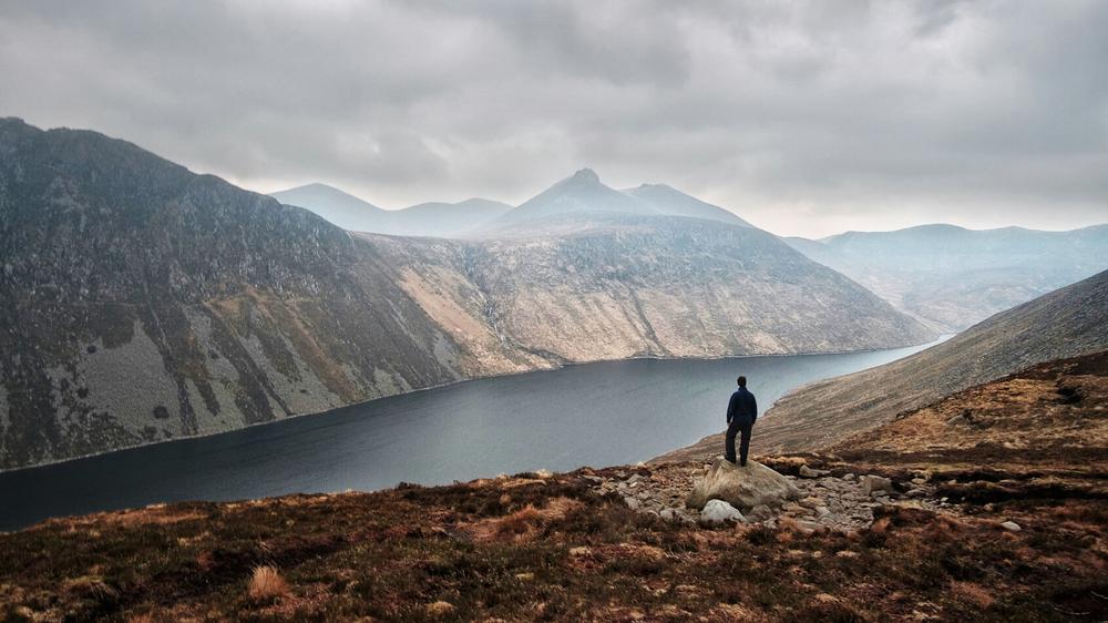 Overlooking Ben Crom