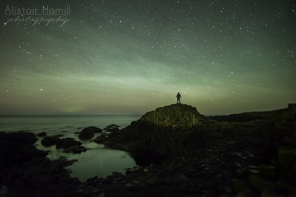 Not only was the light from the airglow bright enough to light the sky and the ocean, but it rippled with structure, courtesy of some gravity waves sweeping up from below.