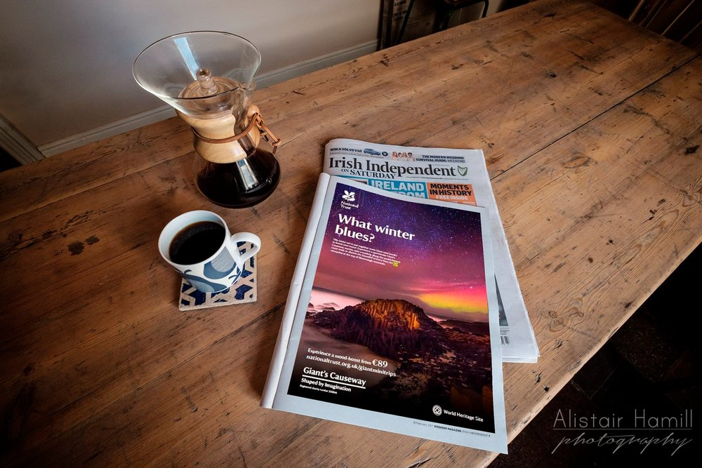 National Trust advertising campaign in the Irish Independent