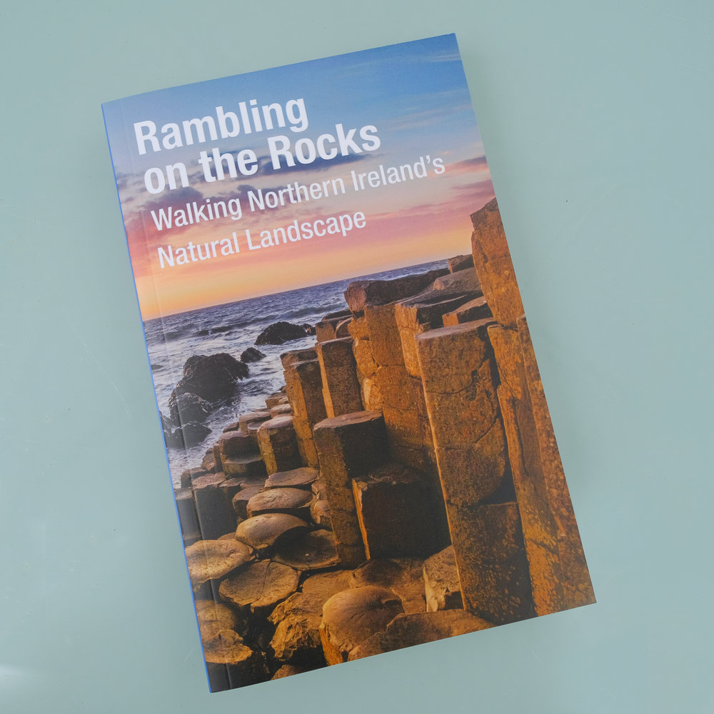A geological walking guide published by the Geological Survey of Northern Ireland