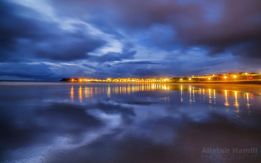 Blue Hour at West Bay