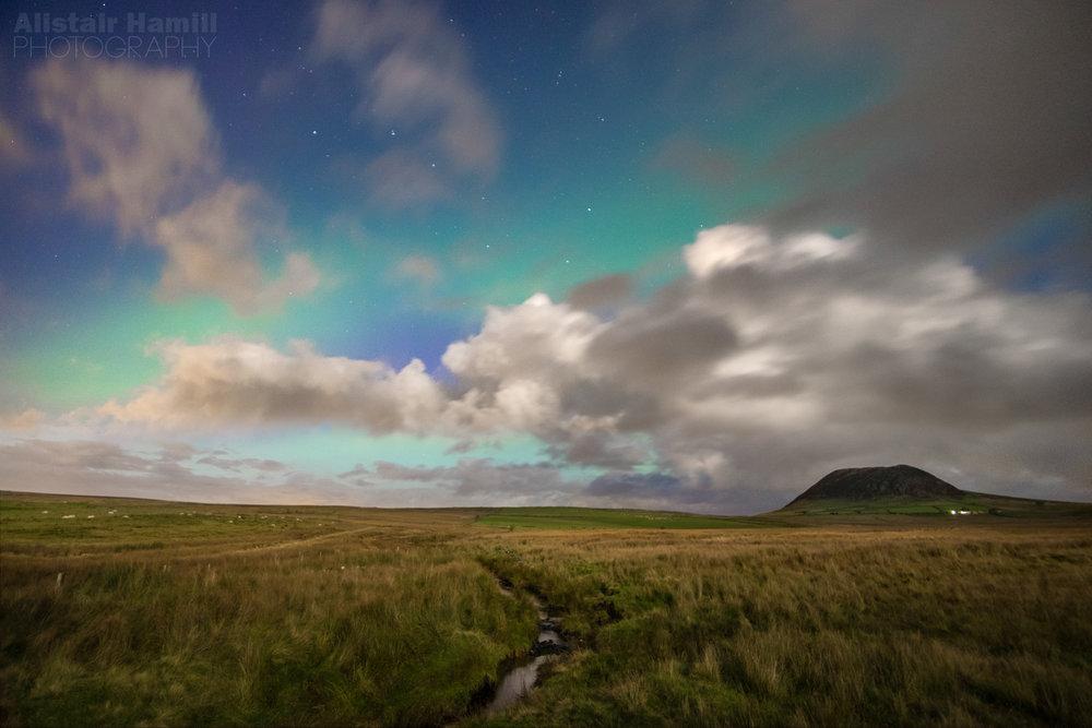 Slemish moonlit aurora.jpg