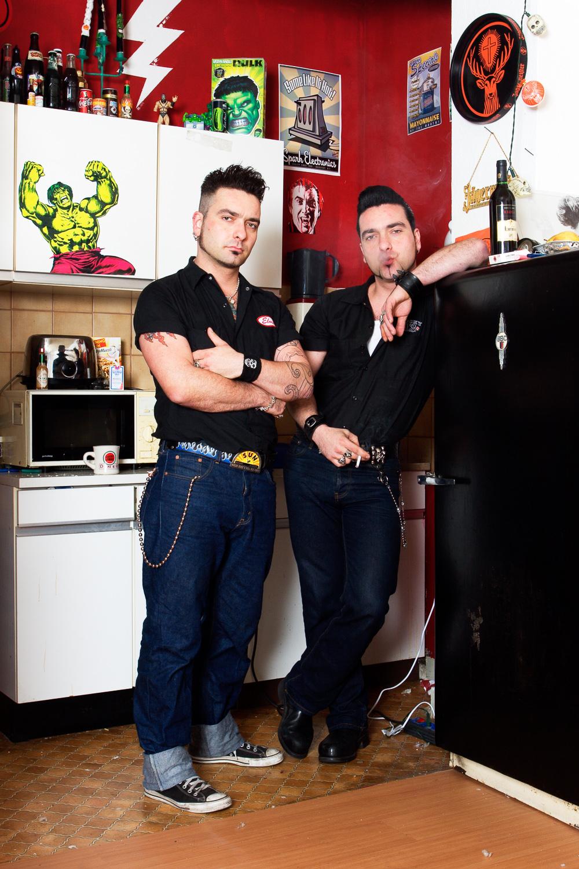 Rafael and Toni