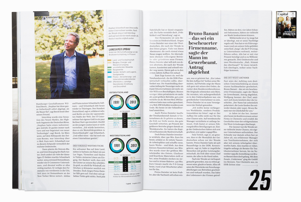 Stephan Schambach, founder of Intershop and Demandware, for Capital magazine, Berlin 2014
