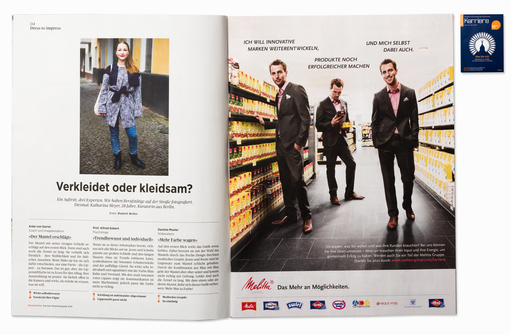 Katharina for Handelsblatt Karriere, Berlin, 2014