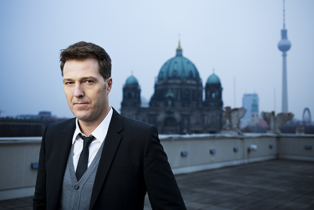 VOX TV CEO Bernd Reichart for W&V magazine, Berlin 2014