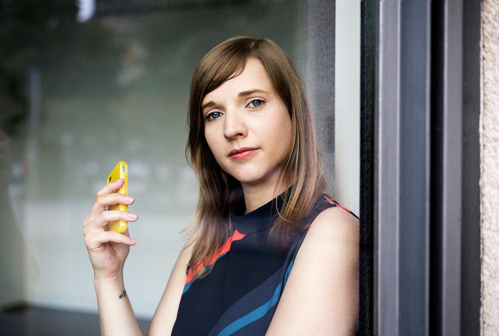 Feminist Anne Wizorek for STERN, September 2014 (outtake)
