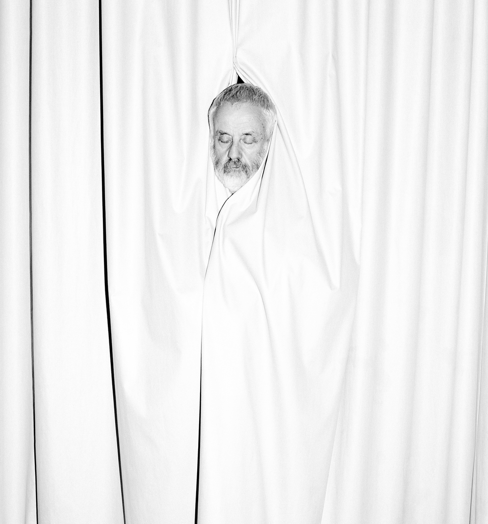 Director Mike Leigh for ZEIT Magazin, October 2014