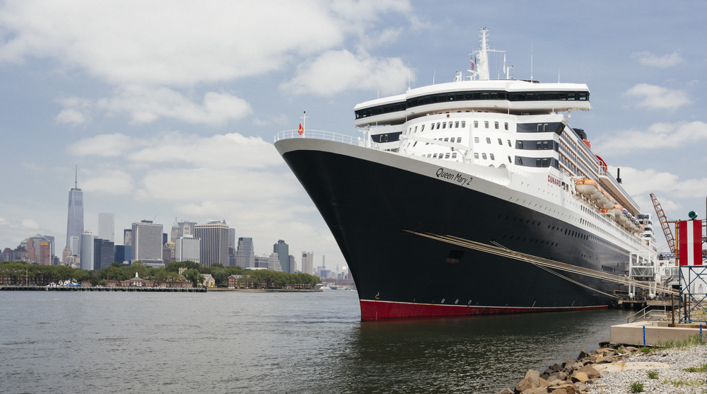 Queen Mary 2 reportage New York to Hamburg in 9 days for Annabelle, June 2015