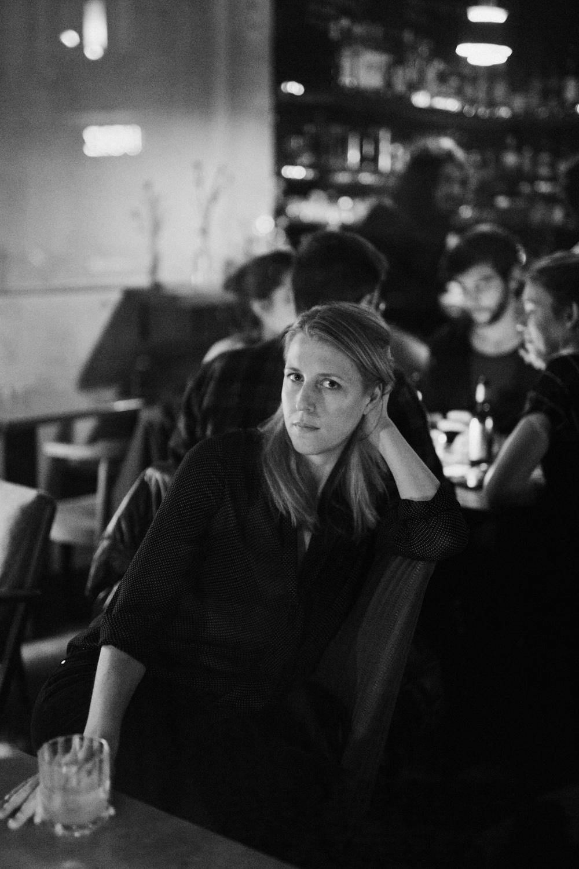 Autorin Elisabeth Raether für annabelle, Berlin 2016