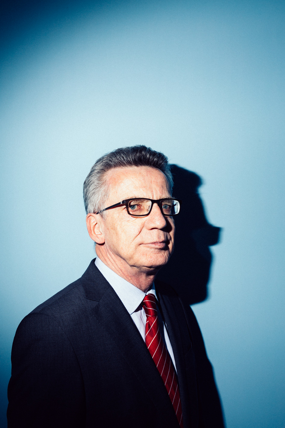 Innenmininster Thomas de Maizière für Focus, Berlin 2016