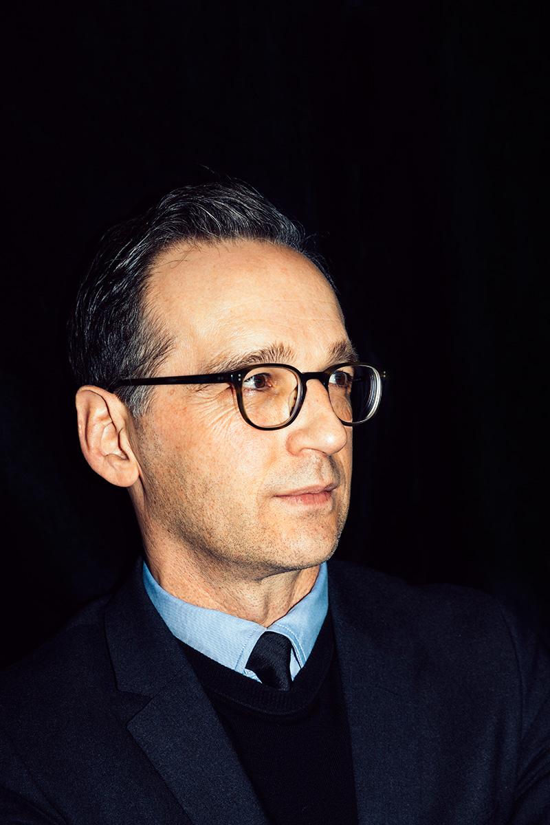 Justizminister Heiko Maas für Welt am Sonntag, Berlin, 2017