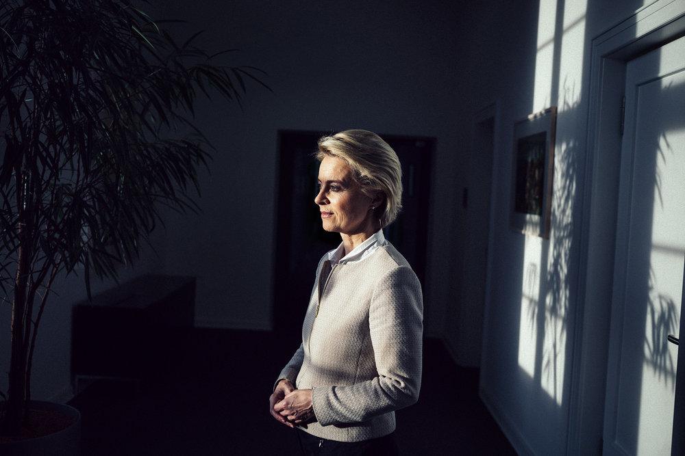 Verteidigungsministerin Ursula von der Leyen für Welt am Sonntag, Berlin 2017