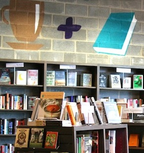 Click on photo from Busboys and Poets to learn more about this independent book store and cafe in the Washington D.C. area.