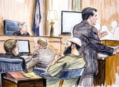 Zacarias Moussaoui's trial