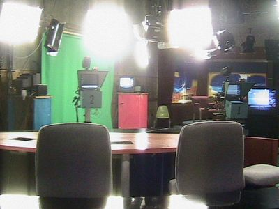 empty anchor desk