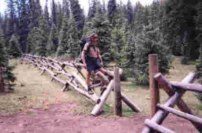 fence straddling