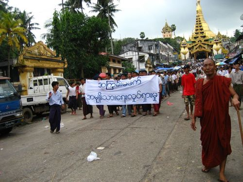 Burmese monks revolution