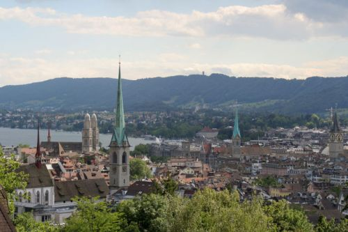 four churches in Zurich