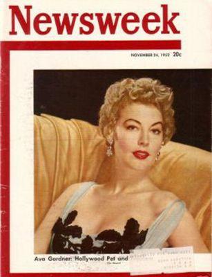 A  Gardner   Newsweek   11 24 1952