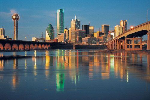 Dallas Skyline day