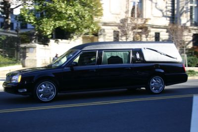 gerald ford funeral procession