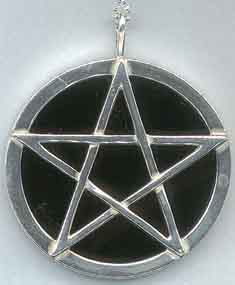 Wiccan pentacles