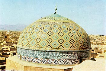 Jameh mosque dome