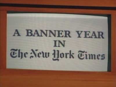 NYT Banner Year