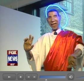 obama as jesus