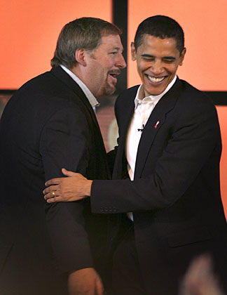 Obama and Rick Warren