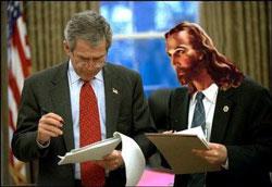 bush jesus