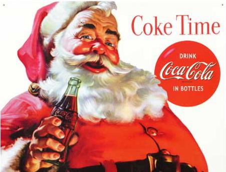 coke santa360
