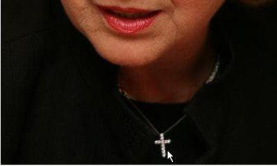 clinton's cross