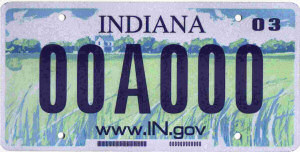 in license plate 01