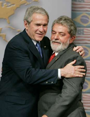 bush hugging