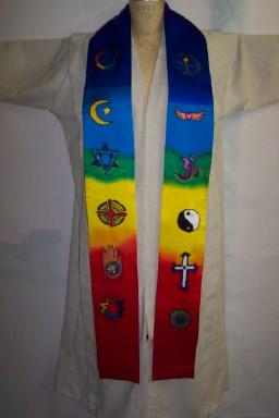 rainbow vestments