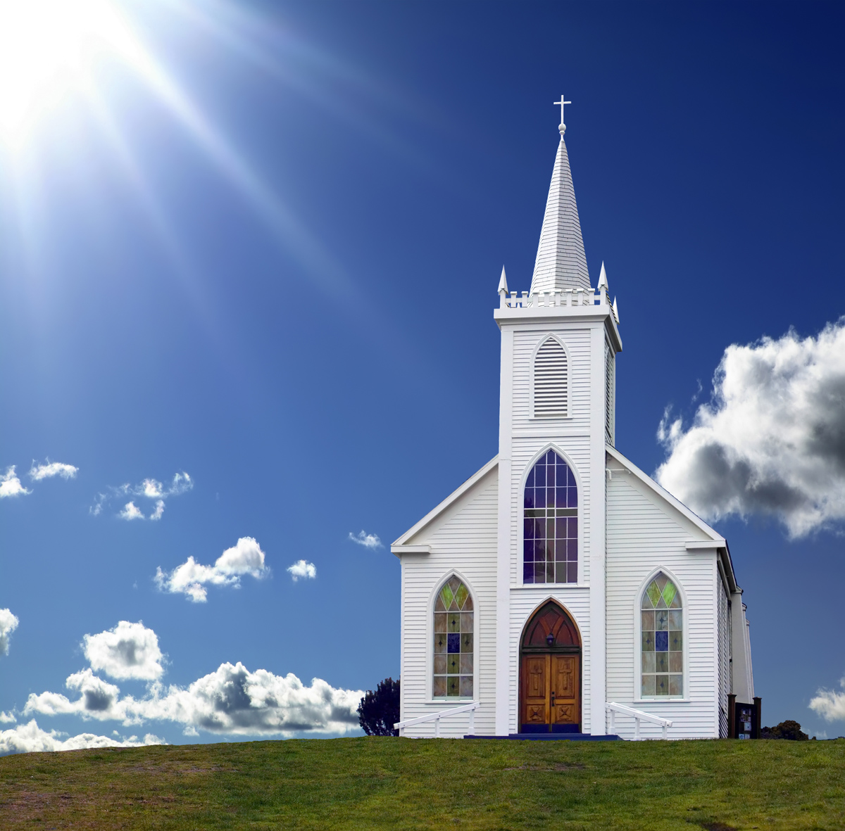 Latinos at a small country church — GetReligion