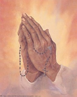 9293~Praying-Hands-and-Rosary-Posters