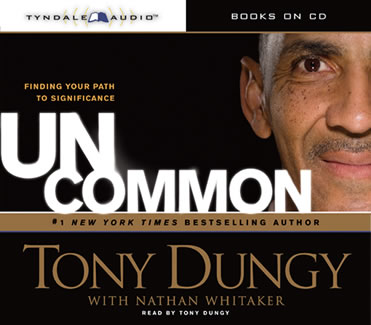 Uncommon-Tony-Dungy-abridged-compact-discs-Tyndale-House-Publishers-audiobooks