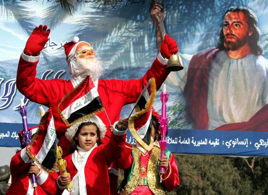 ChristmasParadeInIraq