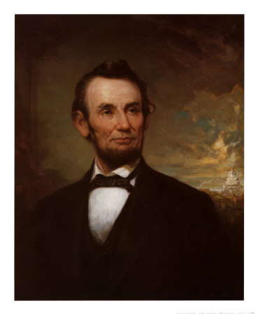 4498 Abraham Lincoln Posters