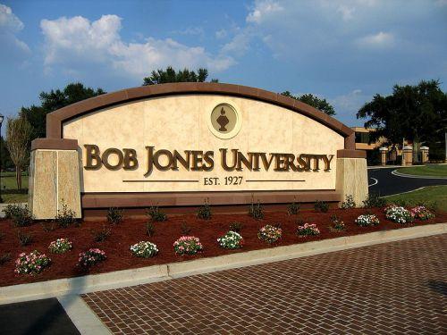 bob jones sign