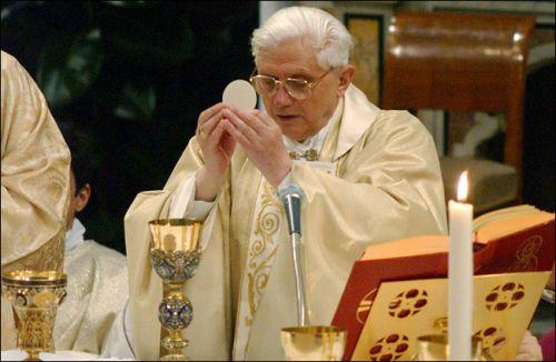 BenedictXVI Mass