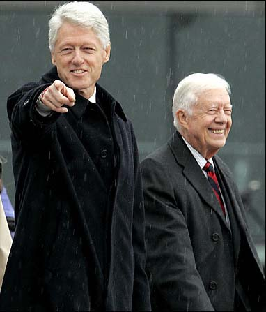 Bill Clinton Jimmy Carter