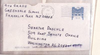 Daschle letter
