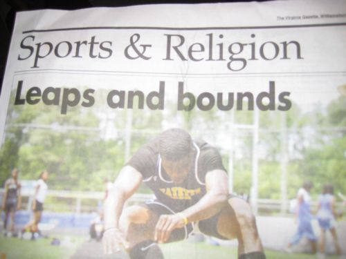 sports and religion